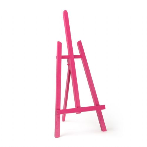 "Pink Colour Easel Essex 24"" - Beech Wood"